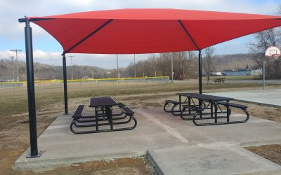 Picnic Tables at Pendleton Athletic Park