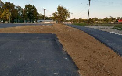 More Work being Done at Pendleton Athletic Park