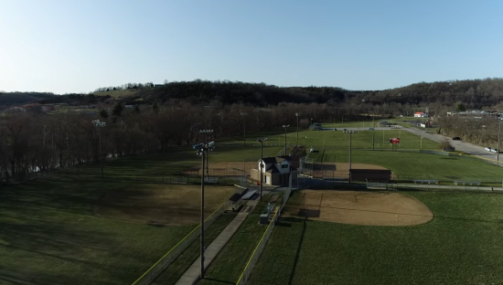Quick Evening Drone Flyover at the Park